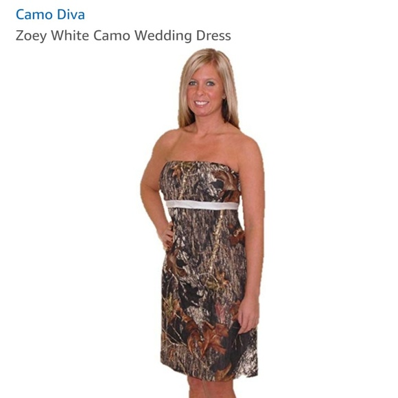 Camouflage Wedding Dresses.Camouflage Wedding Dress Nwt